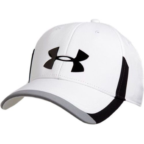Under Armour Ua Men S Renegade White Black Baseball Cap Xl Xxl 1258697 100 Gorras