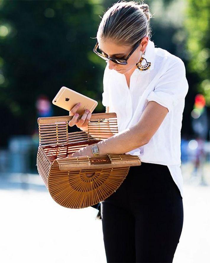 Sunday's Inspiration: Wicker Bag