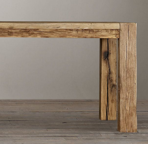 Dream Furniture · This Is The Finish I Want For My Table. Parsons Reclaimed Russian  Oak Dining Table