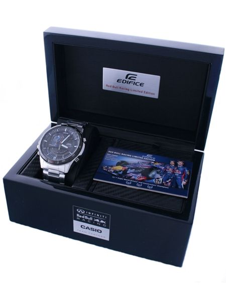 Casio Edifice Red Bull Racing Era 200rb 1aer Mens Fashion