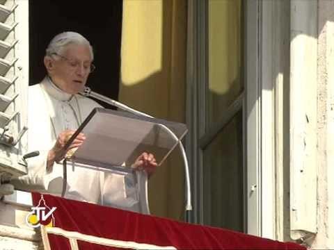 Benedetto XVI, ultimo Angelus: nella preghiera sempre vicini