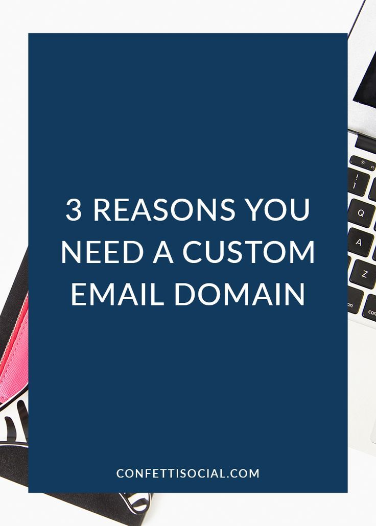 Looking professional is essential as a business owner. Find out why you need a custom email domain on Confetti Social.