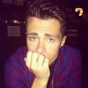When he posted this photo of him being sad after seeing The Fault In Our Stars.   24 Times Colton Haynes Killed It On Instagram