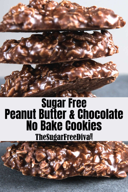 No Bake Sugar Free Chocolate Cookies