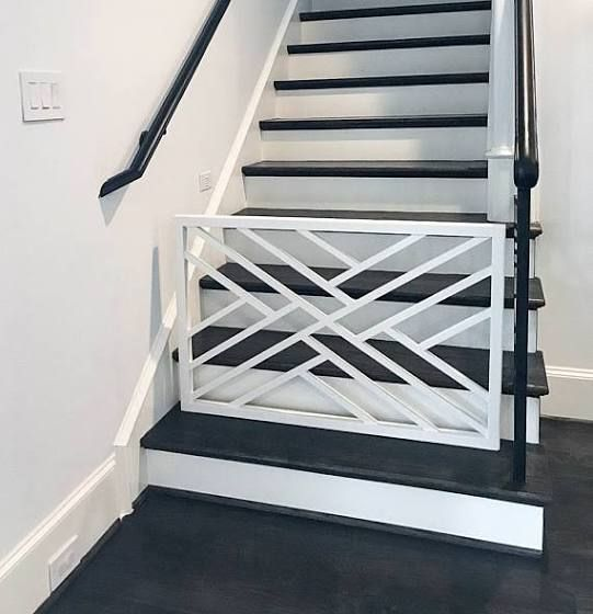 Best Pre Fabricated Chippendale Stair Railing Baby Gates Dog 400 x 300