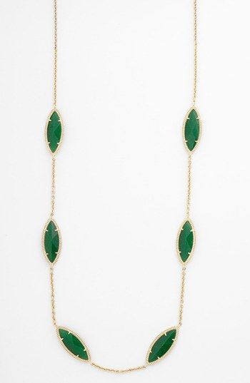 Kendra Scott 'Tory' Long Station Necklace (Nordstrom Exclusive) available at #Nordstrom