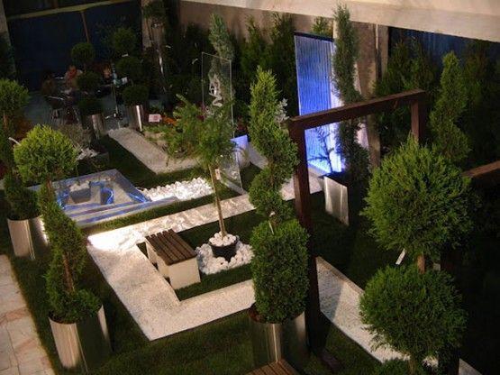 Modern Indoor Garden Design