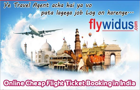 Book Cheap Air Tickets and Fly High & Wide