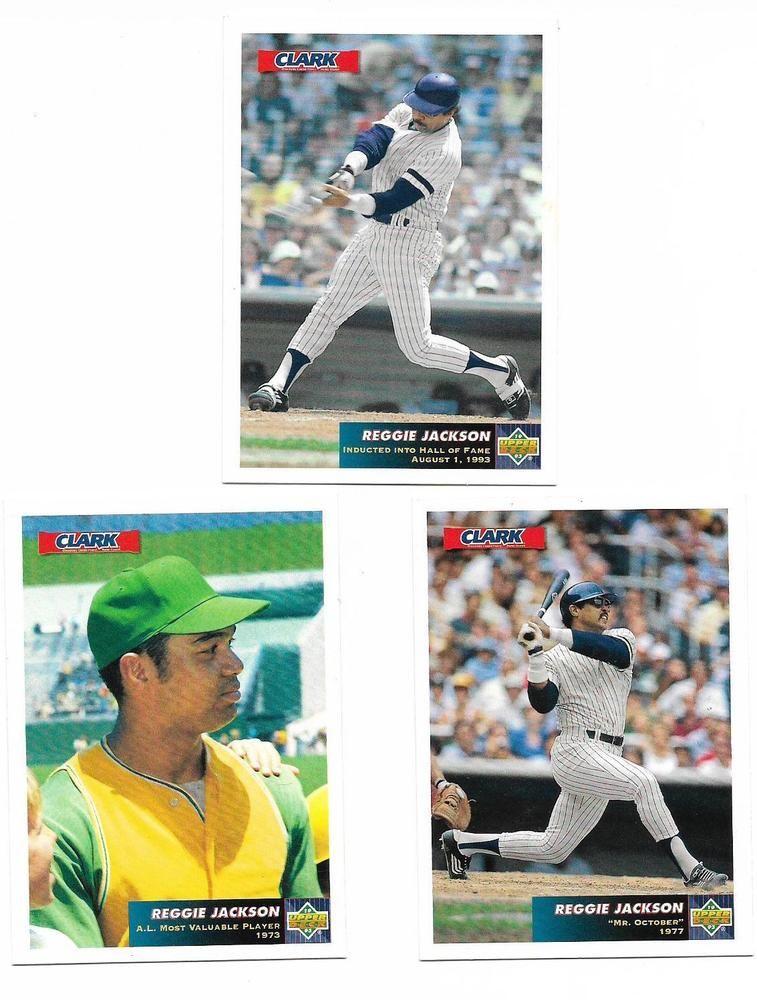 Details About 1993 Upper Deck Clark Baseball Card C1 Reggie