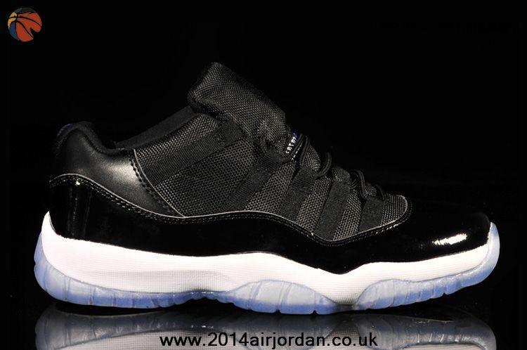 51cb13fff4190f Air Jordan 11 Retro Low Black Royal Blue Shoes
