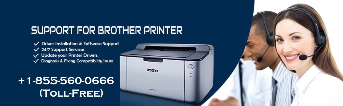 Brother printer support phone number 18555600666 toll