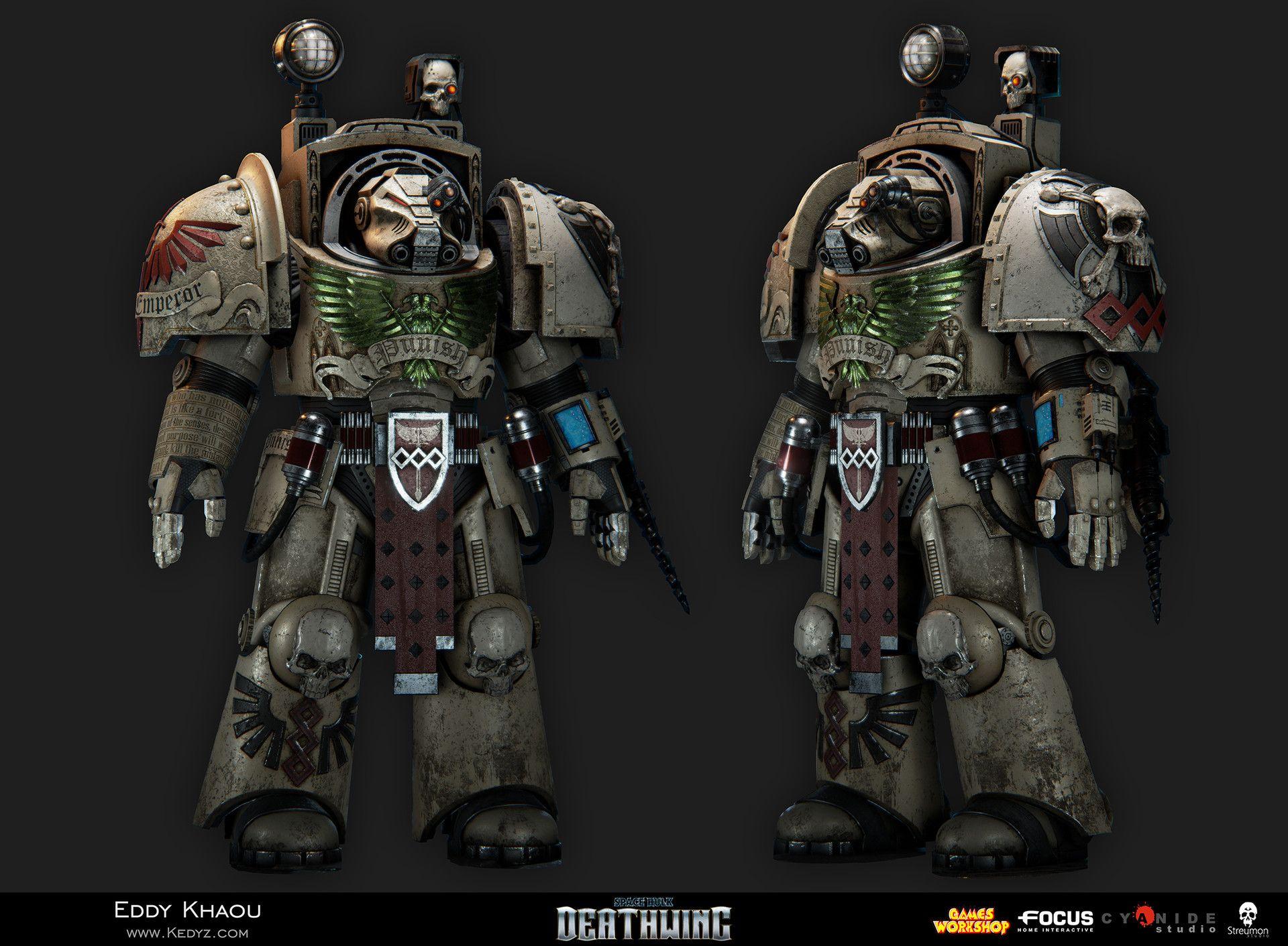ArtStation - Space Hulk Deathwing - Terminator Apothecary, Eddy ...