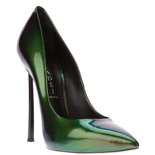 Casadei Sapato verde. ❤ liked on Polyvore featuring shoes, pumps, heels, sapatos, обувь, casadei pumps, casadei shoes, heels & pumps and casadei