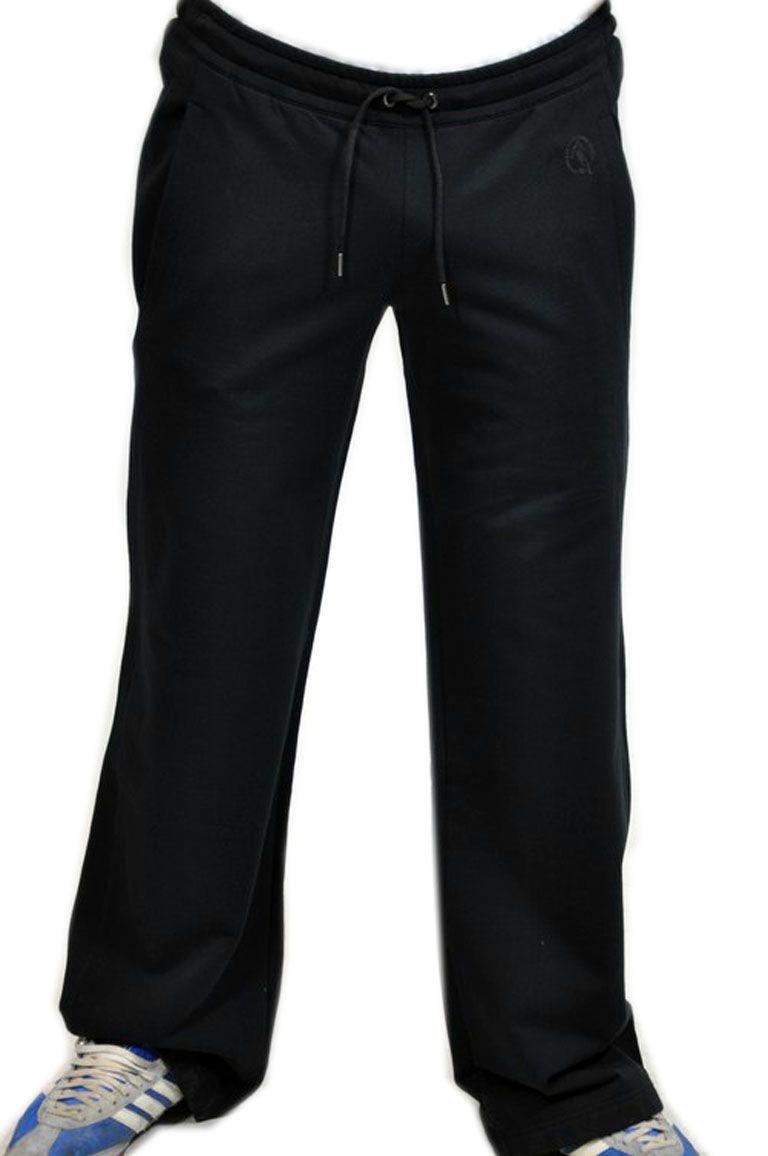 Bikkembregs, pantaloni felpa neri