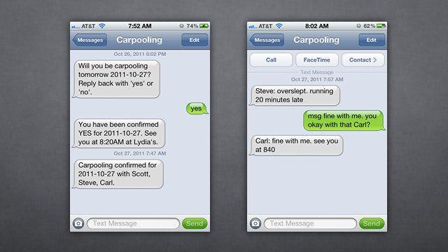 Damn Simple Carpooling Organizes Your Carpools via Automatic Group ...