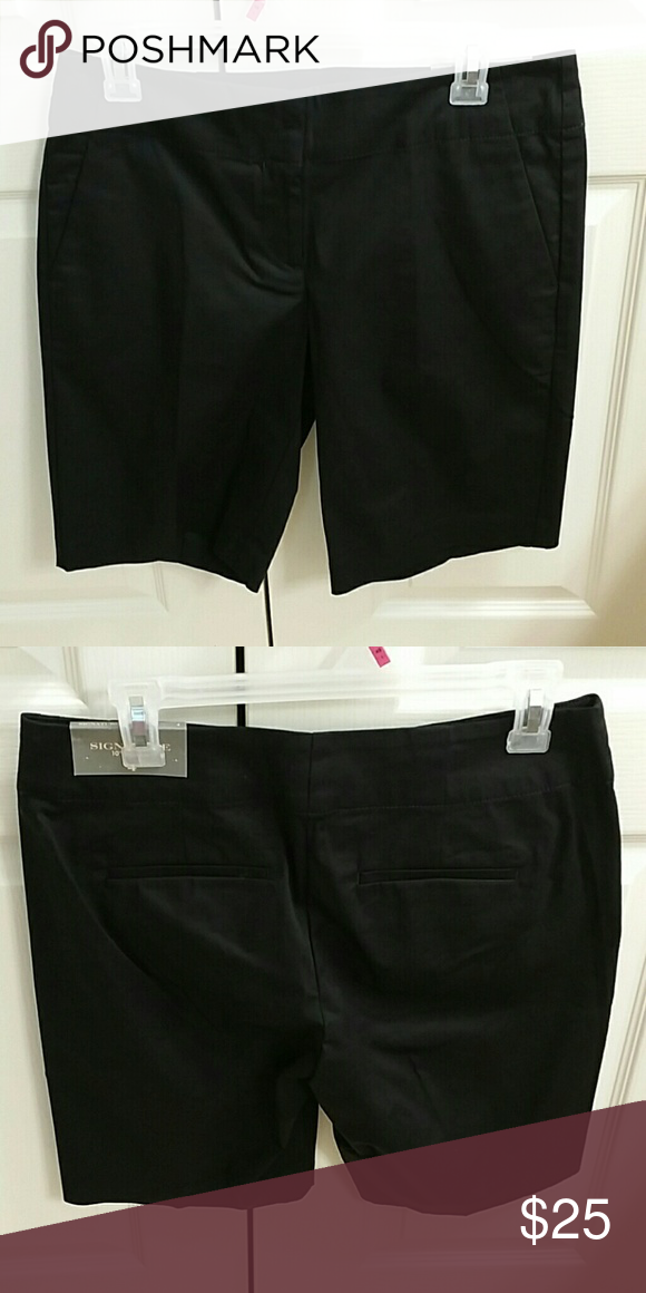 Nwt size 4 Ann Taylor 10 in inseam black shorts Nwt size 4 Ann Taylor 10 in inseam black shorts Ann Taylor Shorts
