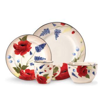 Dinnerware Set $143.00 kohls.com  sc 1 st  Pinterest & Pfaltzgraff Scarlett 16-pc. Dinnerware Set $143.00 kohls.com | What ...