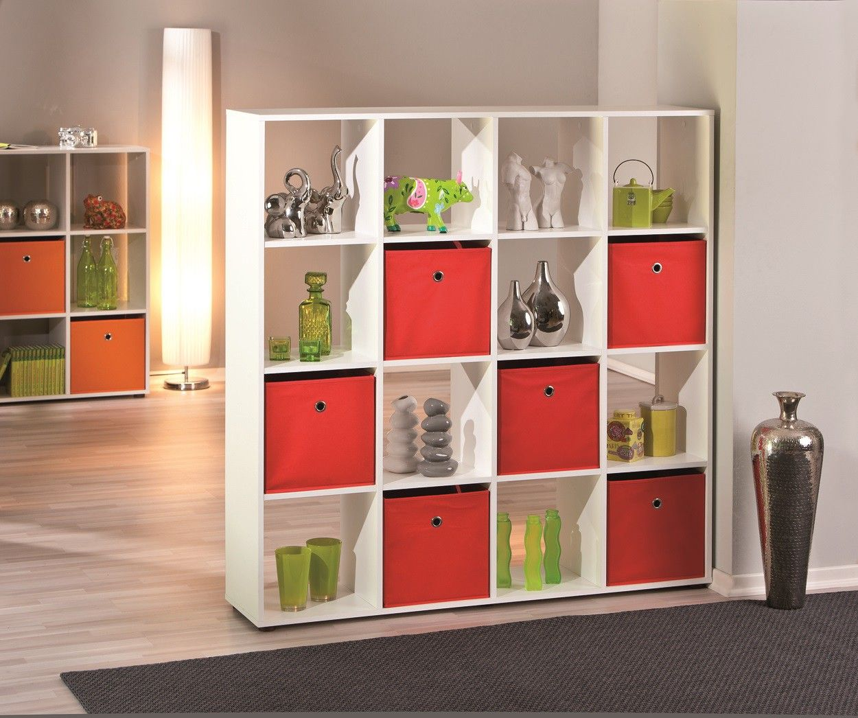 Etagere Contemporaine 16 Cases Ullo Meuble Separation Piece