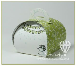 Inch of Creativity: Curvy Keepsake Box!