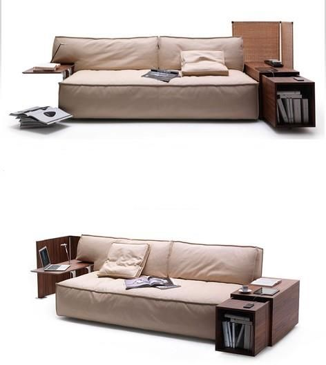 Philippe Starck Myworld Sofa Suite For Those Who Work At Home The Myworld Sofa Encourages Proper Posture There Is An Integrated Usb Ch Home Sofa Sofa Suites