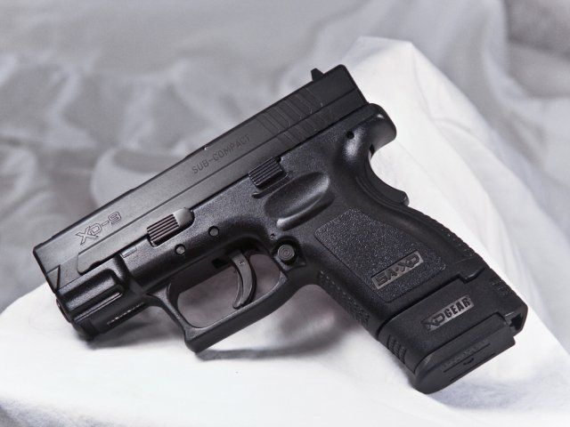 Springfield Armory - XD9 Subcompact  Awesome little 9mm with