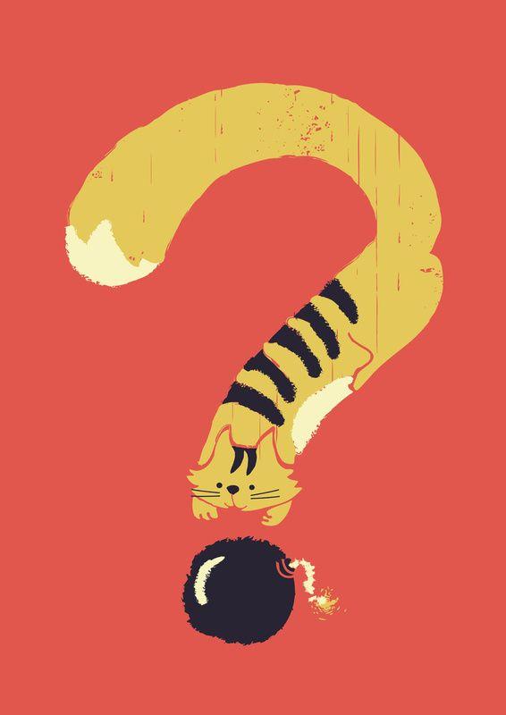 ? (Curiosity Kills)  by Budi Satria Kwan