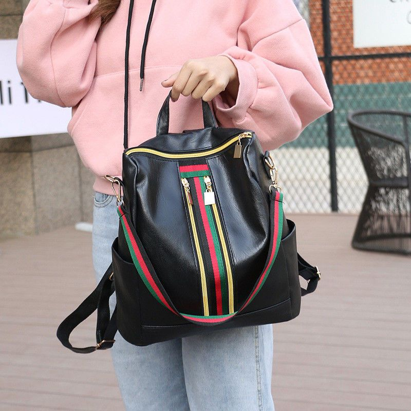 556ebade006a Ladies Luxury Leather Bag Gucci Backpack Pattern Tote Handbag Gift For Women   Unbranded  Backpack