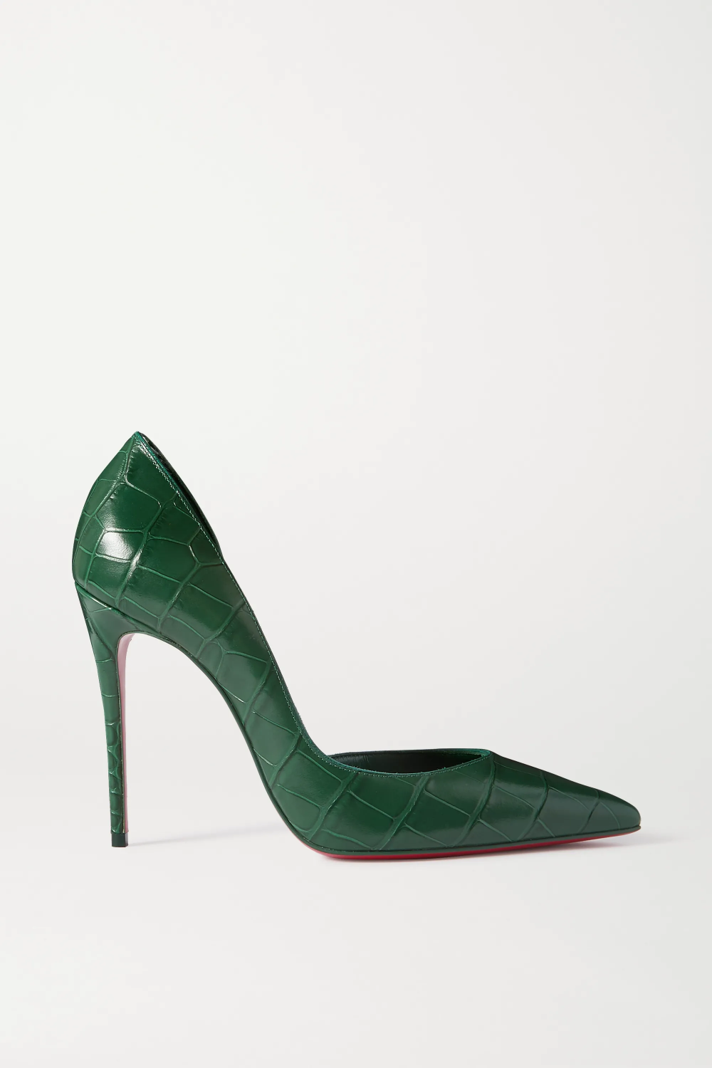Sparkly Green Cocktail Party Leather Pumps 2020 Sequins 12 Cm Stiletto Heels Pointed Toe Pumps In 2020 Stiletto Heels Heels Green Heels