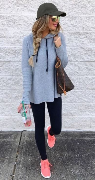 10 Lazy Girl Outfits That Look Polished AF #collegeoutfits