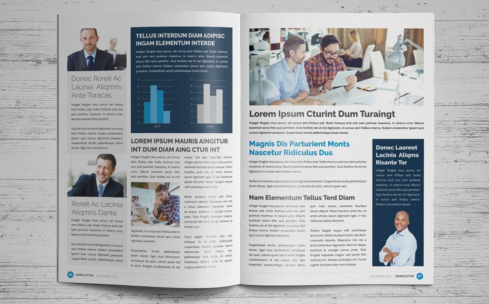 "Newsletter Design v1 Corporate Identity Template 75609 is part of Newsletter design, Brochure design template, Indesign templates, Business newsletter, Templates, Fitness logo design - 8 Page Creative Modern Newsletter InDesign Template v 1Ready to use for  ""Business Newsletter, Corporate Newsletter, Financial Newsletter, Marketing"