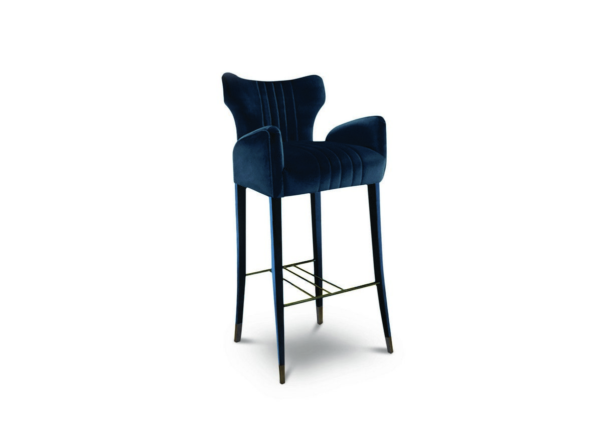 DAVIS bar chair will be exhibited at M&O 2017. This bar stool can be ...