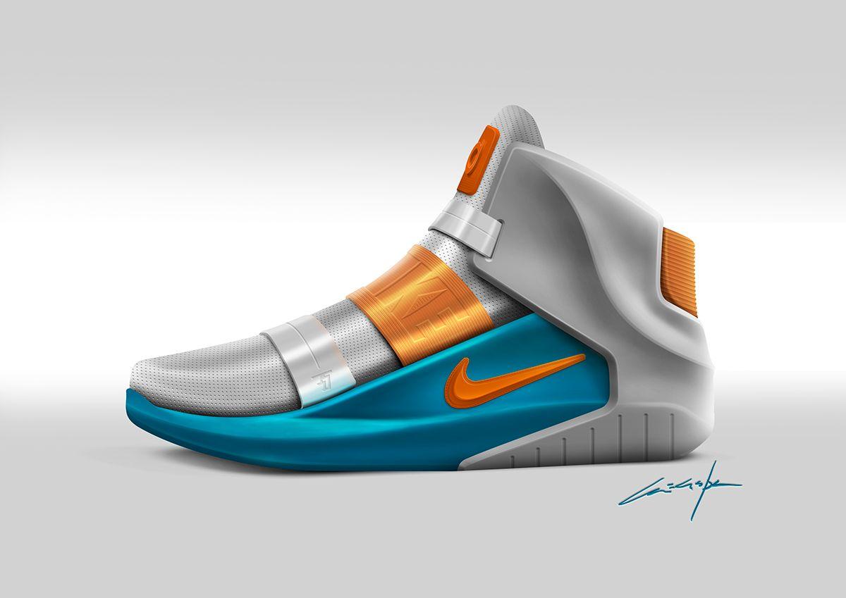 the best attitude 99d31 077e5 Nike KD7 High Sneaker   sketch concept on Behance