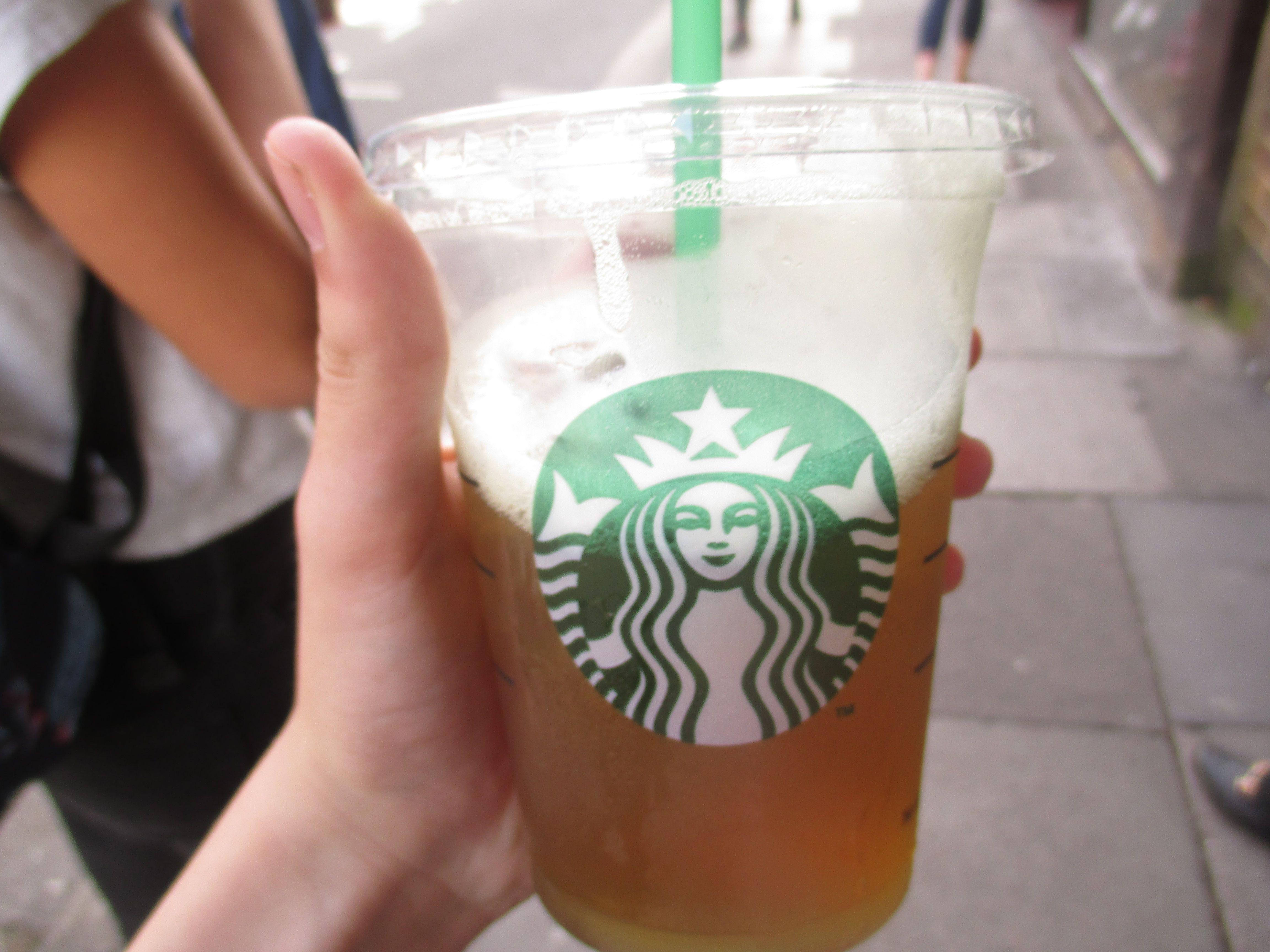 starbucks ice tea