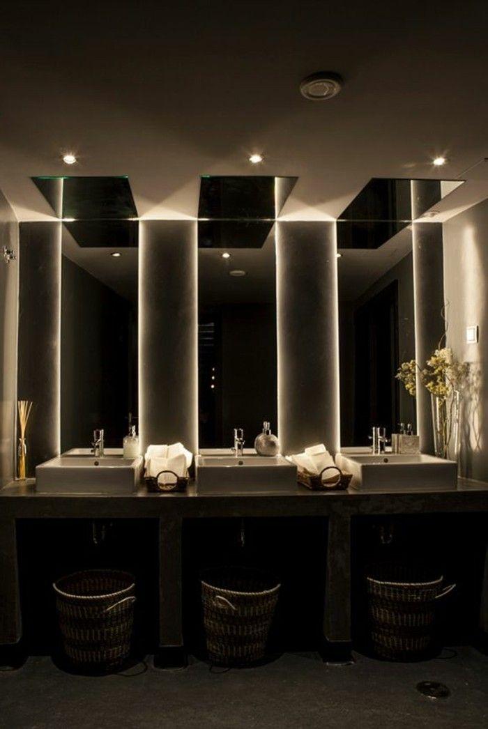Badgestaltung Ideen für jeden Geschmack Badezimmer Pinterest Baño - spiegel badezimmer mit beleuchtung