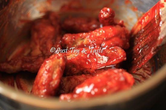 Resep Fire Chicken Wings A La Richeese Resep Ayam Makanan Dan Minuman Masakan