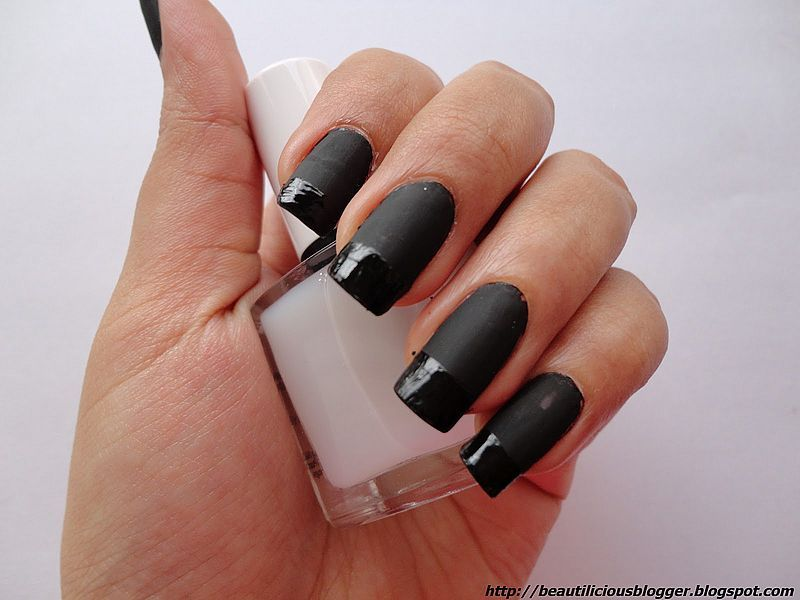 Nice 130+ Beautiful Black Acrylic Nails Design Ideas | Nails ...