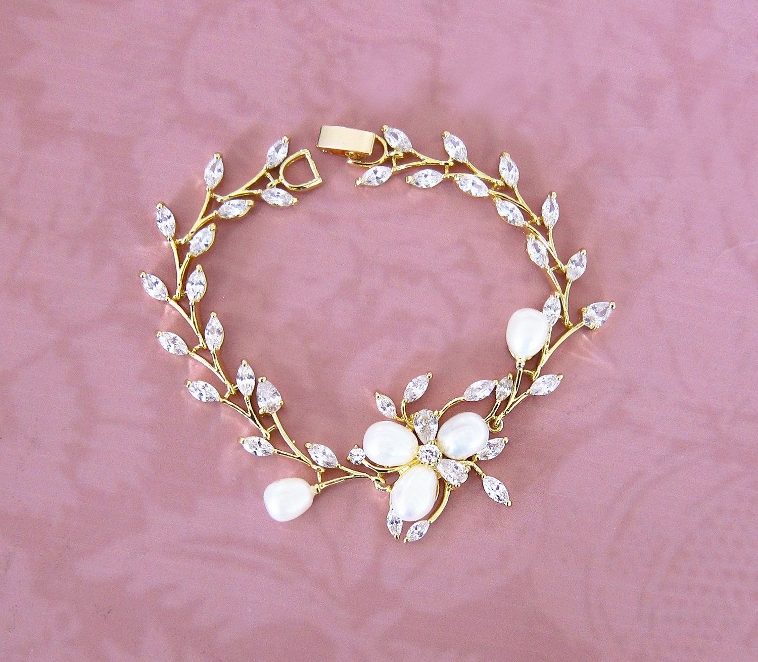 bridal delicate day wedding bracelets products jules bellagio crystal jewellery athena pearl bracelet and ivory