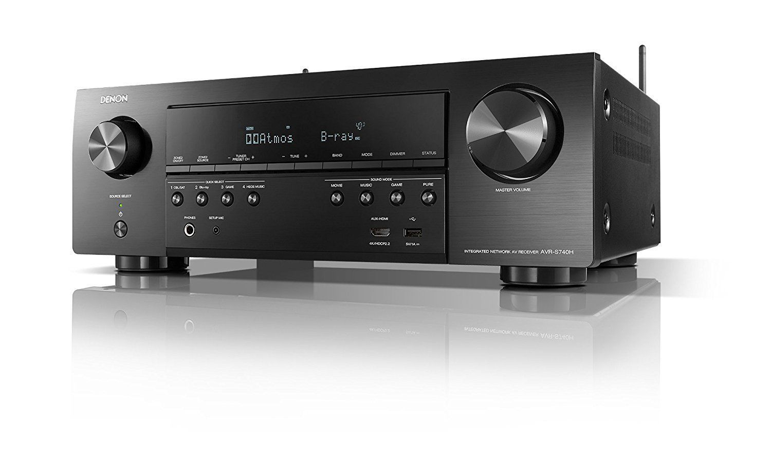 Denon AVR-S740H Receiver in 2019 | Products | Home theater