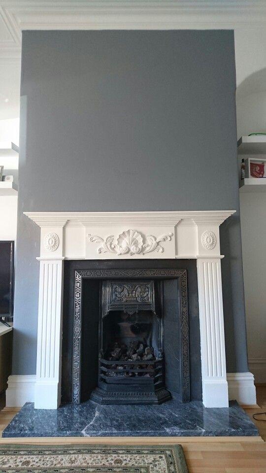 Best Plummet By Farrow Ball In 2019 Home Fireplace Home 640 x 480