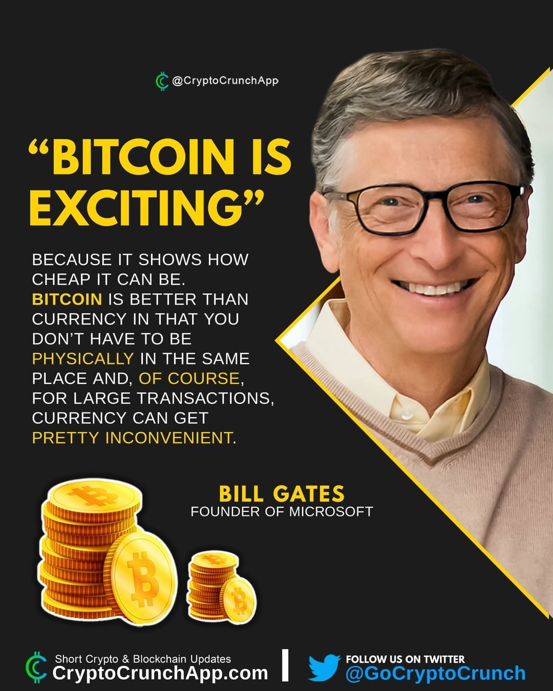Bill Gates Bitcoin Is Exciting Investing For Beginners