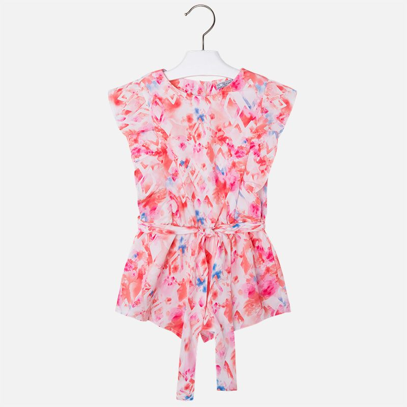 03e86998732a Mayoral Girl s Flamingo Pink Romper