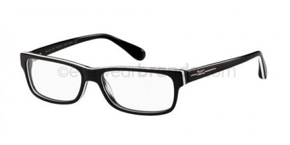 f3089c54005 Marc By Marc Jacobs MMJ426 N 34W BLACK WHITE Designer Frames ...