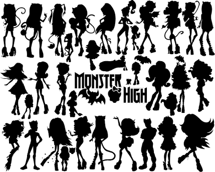 Image result for monster high silhouette | ideas for MIL | Pinterest ...