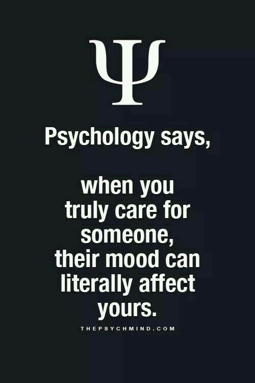 Gemoedstoestand Psychology Says Psychology Quotes Inspirational Quotes