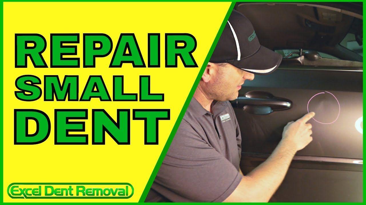 How To Repair Small Dent in Car Door https//youtu.be