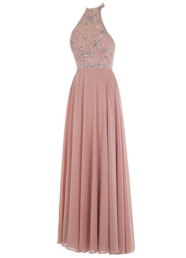 Beaded Long Prom Dress I125 | Vestiditos, Vestidos de fiesta y ...