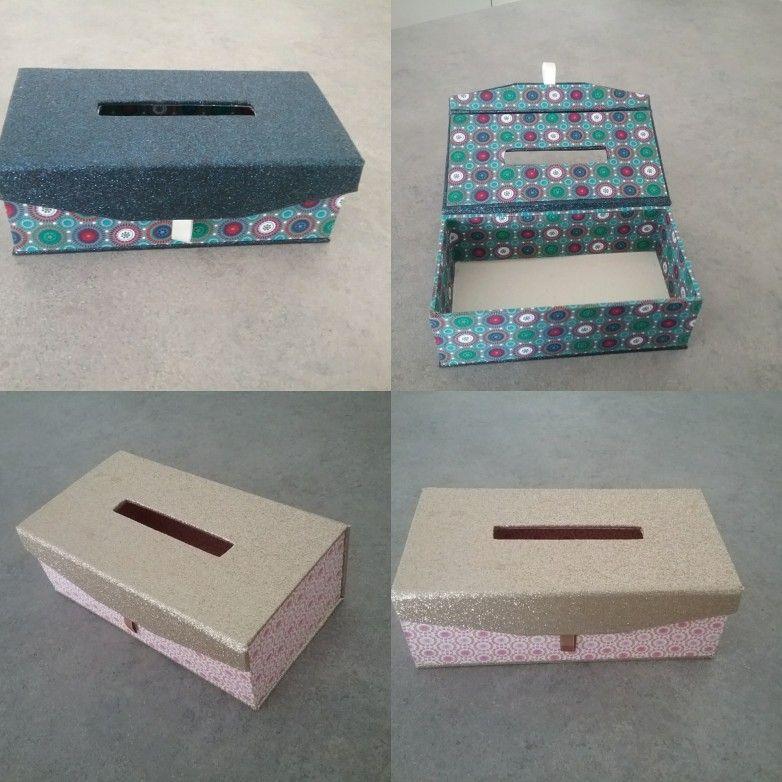 voici les jolies boites a mouchoirs aimant s tr s scintillantes ces bo tes sont recouvertes de. Black Bedroom Furniture Sets. Home Design Ideas