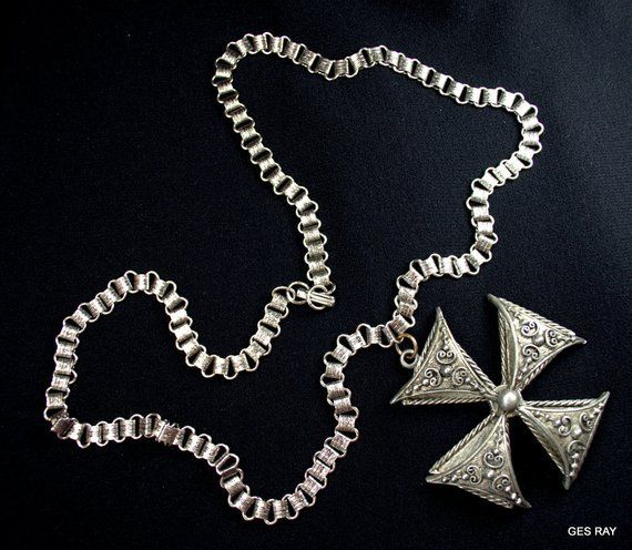 Military Cross Necklace