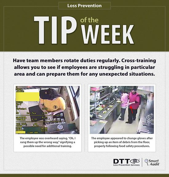 LP Tip of the Week: Cross-train employees by having them rotate ...