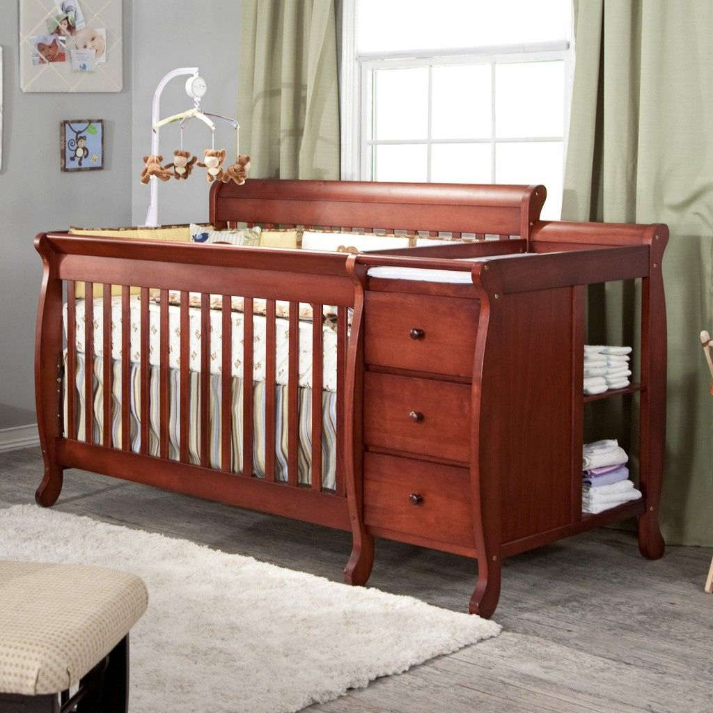 Davinci Kalani 3 In 1 Convertible Crib And Changer Combo Cherry Definitely A Top Option For Nursery Furniture